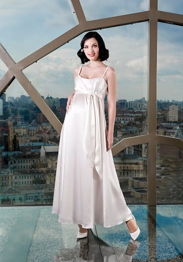Платья для беременных длинные