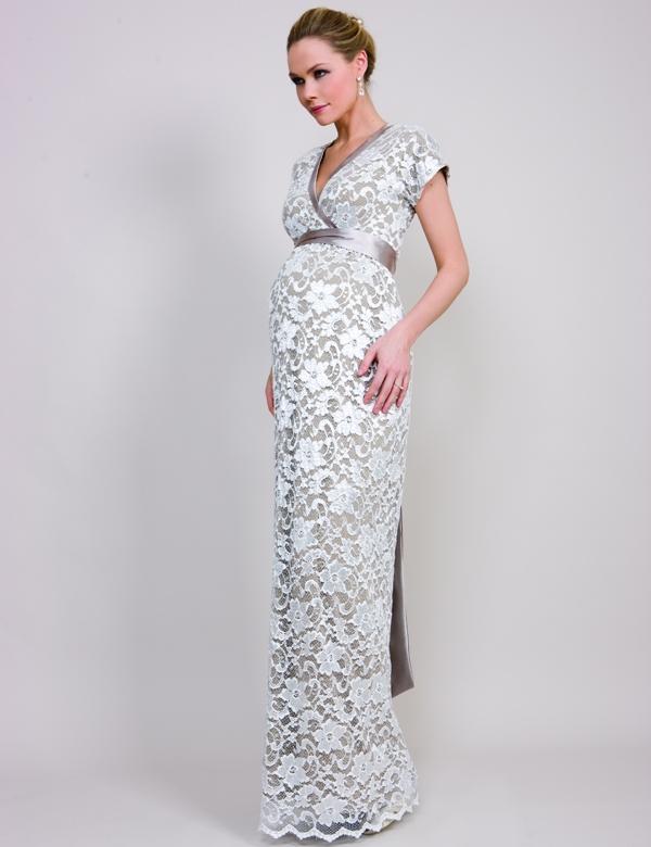 Фасоны длинных платьев для беременных