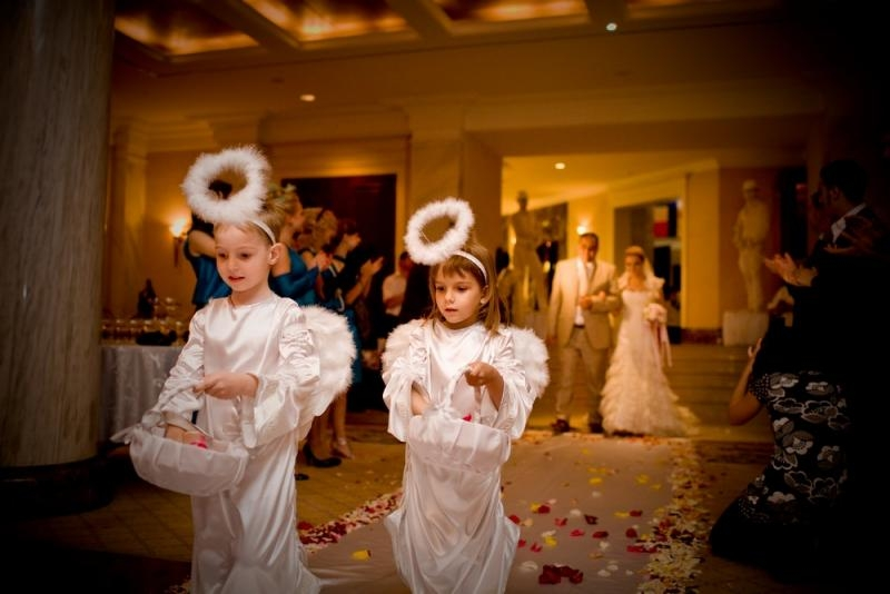 Как провести свадьбу с ребенком?