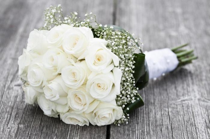 Букет на свадьбу от мужа