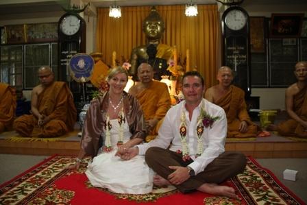 Свадьба буддистов