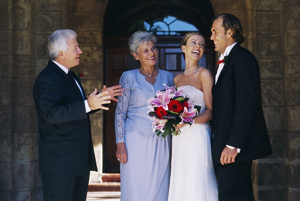 Знакомство мам перед свадьбой