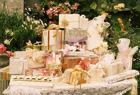 Как составить список подарков на свадьбу?