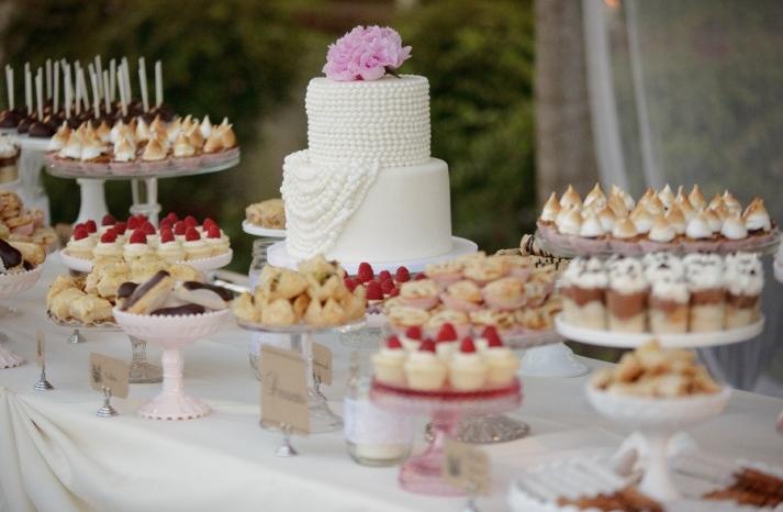 Свадебный торт цветом матого желтого фота