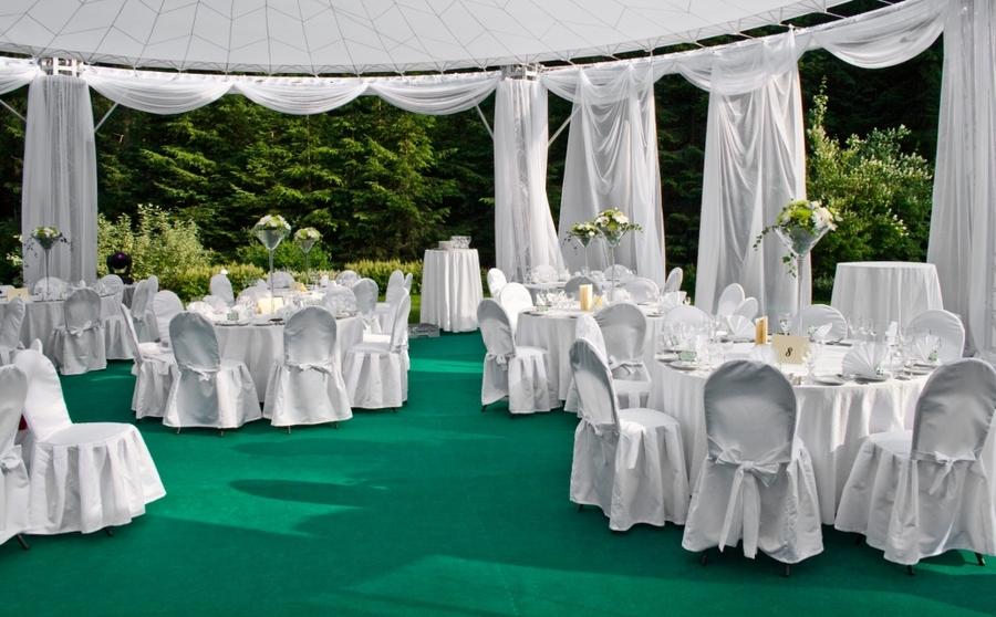 Праздничный двор для свадьбы