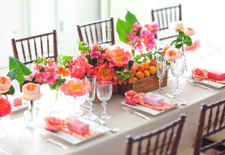 Как сервировать свадебный стол?