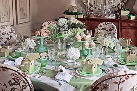 Букетики для свадебного стола