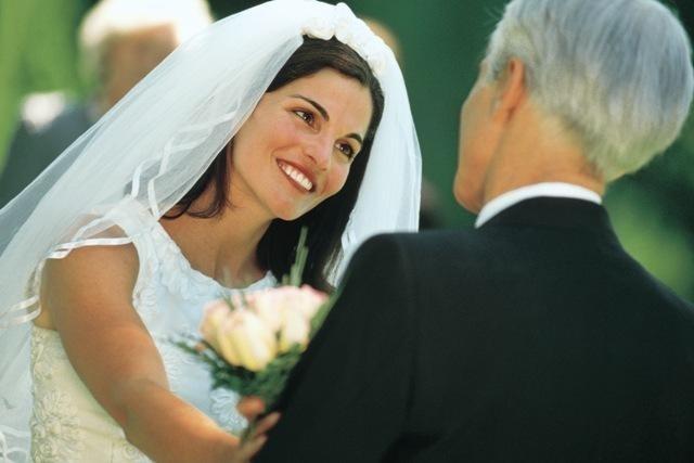 Танец отца и дочери на свадьбе