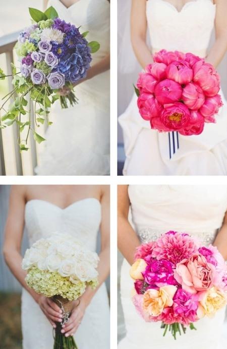 Букет невесты длинный