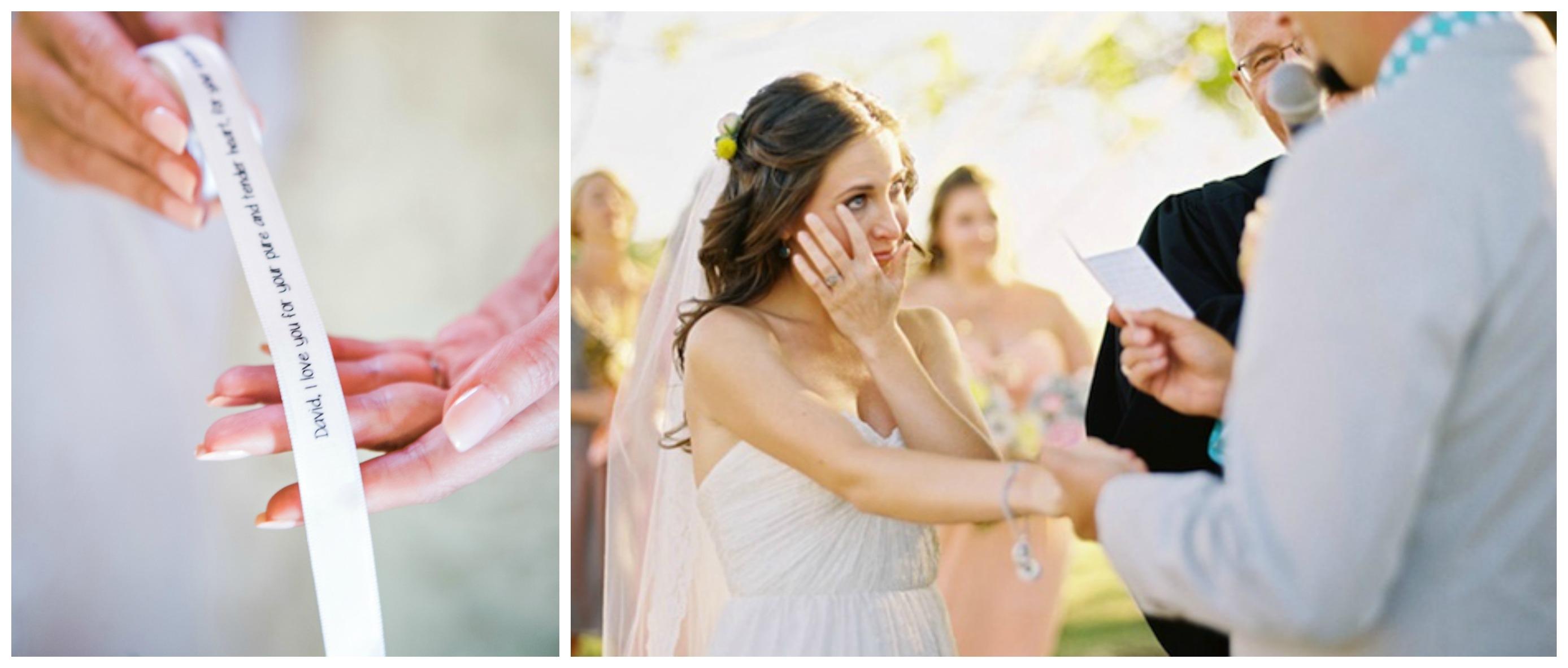 Невеста перед свадьбой развлекается