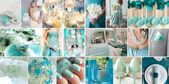 Украшение зала на свадьбу мятная