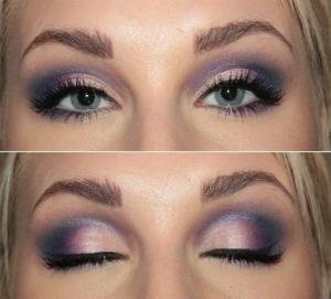 Свадебный макияж для выпуклых глаз