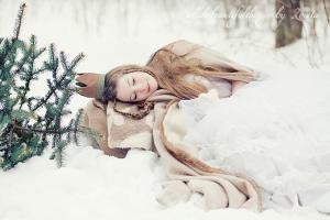 Зимняя фотосессия идеи для девушек