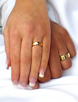 фото обручальных колец с бриллиантом