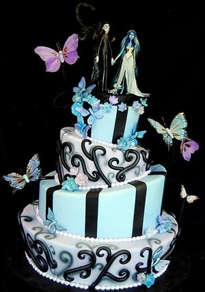 Оформление свадебных тортов в осеннем стиле