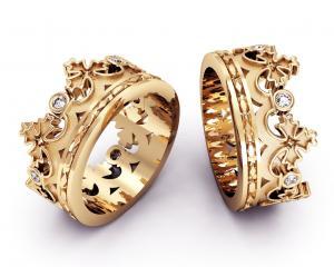 Кольцо для свадьбы девушкам