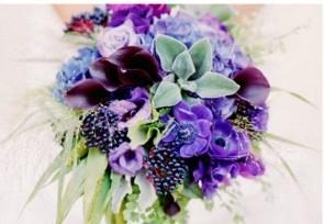 Свадьба в сиреневом цвете фото