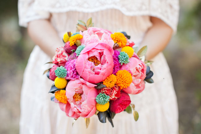 Махровые цветы бумаги