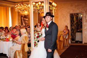 Свадебные торты в ганстерском стиле