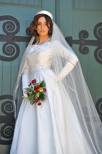 Зимние образы невест фото