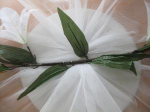 Сшить украшение на свадебную машину