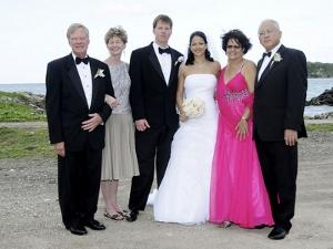 Что одеть на свадьбу родителям?