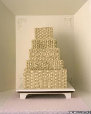 Квадратные свадебные торты фото