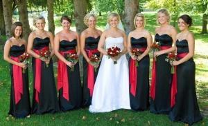 Брючный костюм для подружки невесты