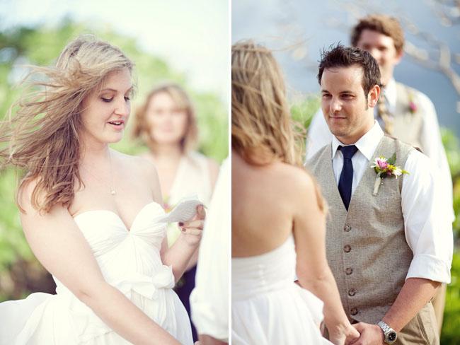 Летний образ невесты