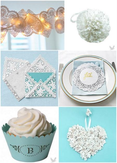 Торт для бумажной свадьбы