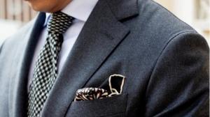 Как подобрать мужской галстук и платок?