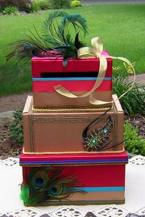 Круглая коробка для денег