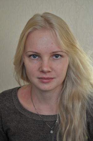 Бежевый блонд с шоколадными прядями