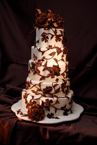 Торт схрусталем