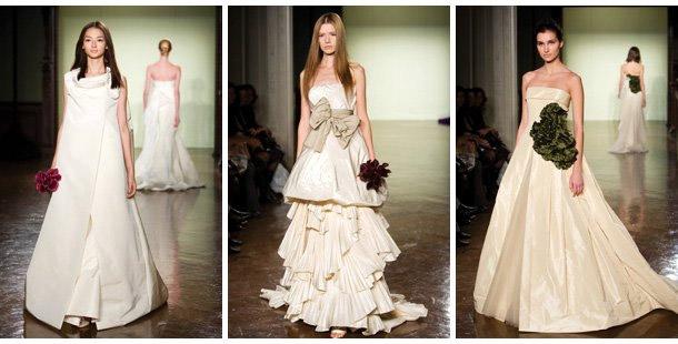 Свадебные платья дизайнера вонг