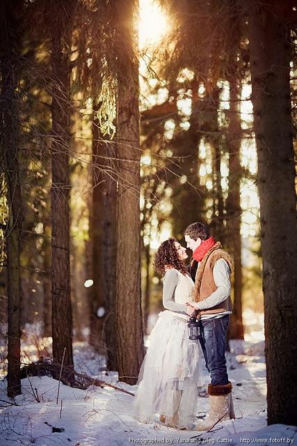 Зимние образы невесты сказка