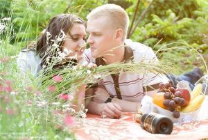 Первая годовщина свадьбы фотосессия