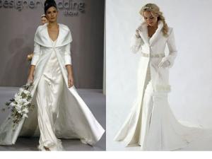 Пальто невесте