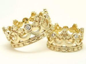 Обручальные кольца с гравировкой узор