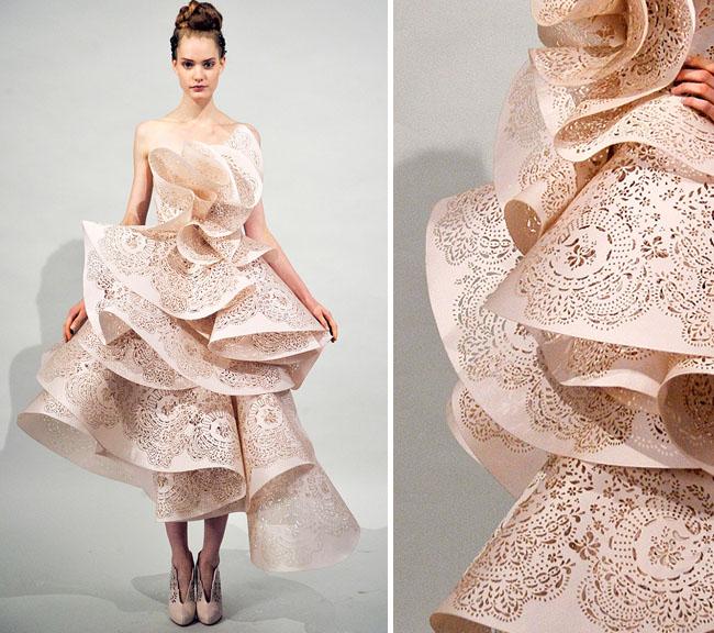 Как украсить платье тканью 58