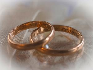 Картинки свадебные кольца толстые