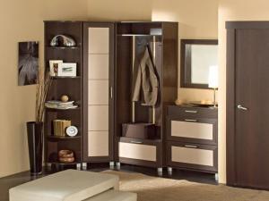 Стильная мебель для прихожей фото