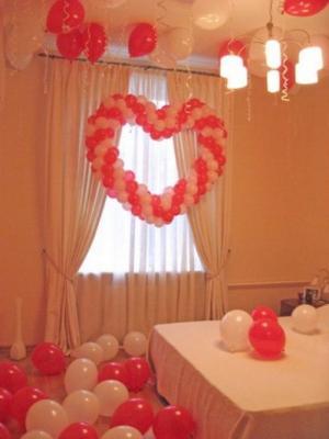 Украшение спальни для свад