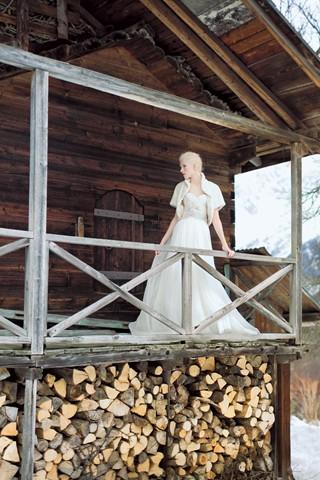 Сказочные фотосессии в зимнем лесу