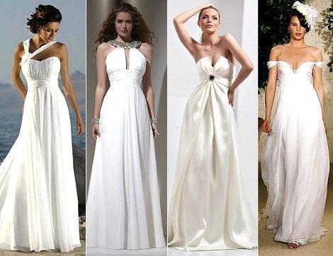 Свадебное платье в стиле Греции