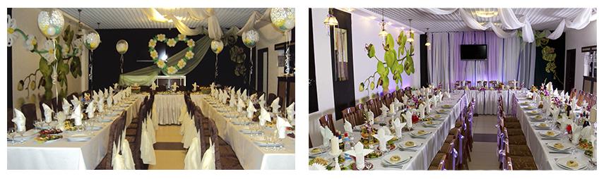 Расположение залов в ресторане комильфо