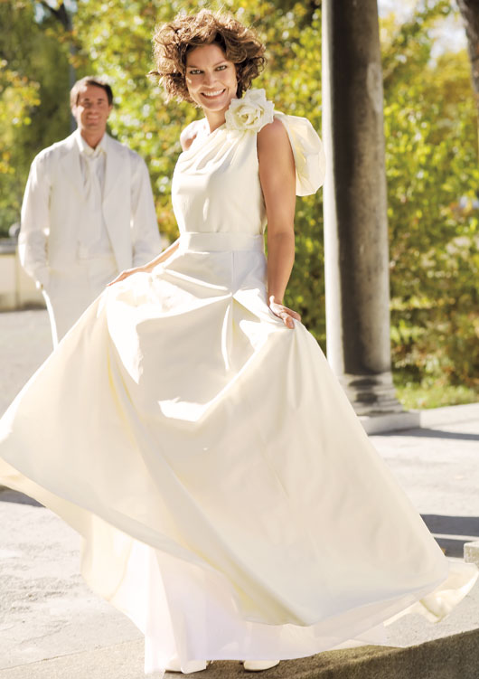 Бурда Моден Свадебное Платье - womantrapexper