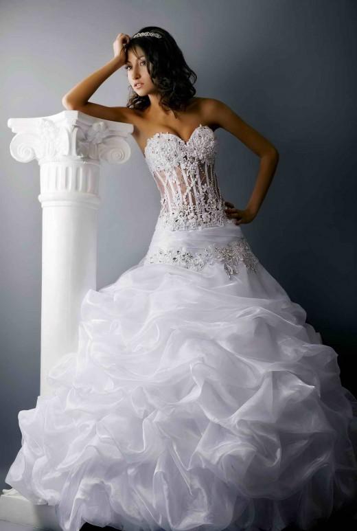 Платья свадебные фото рыбкой 2016