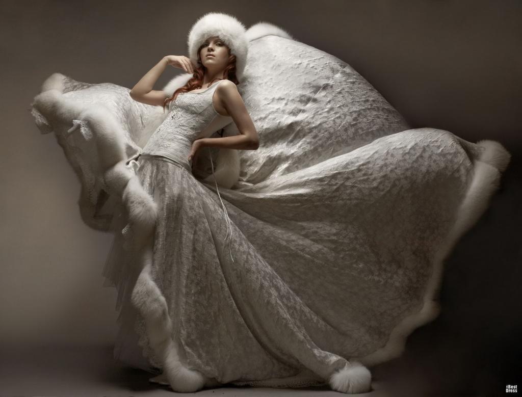 Свадебное платье Бурда