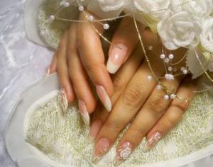 Наращивание ногтей для невесты Нижний—Новгород